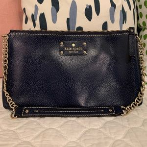 Authentic Kate Spade Navy Clutch